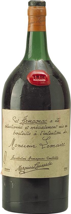 Armagnac 1914 Marquis de Caussade 2.5L (5897)