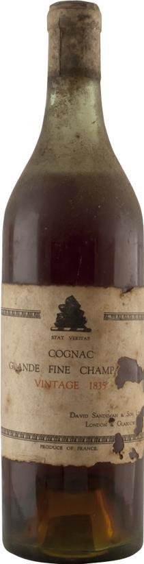 Cognac 1835 David Sandeman Grande Fine Champagne (5933)