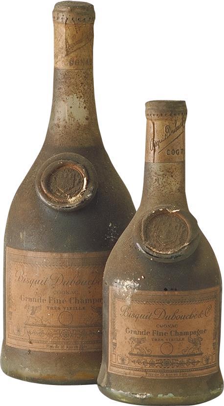 Cognac Bisquit Dubouché Grande Fine Champagne Très Vieille 1930s