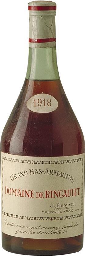 Armagnac 1918 Domaine de Rincaulet (6127)
