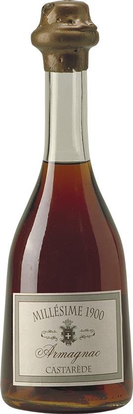 Armagnac 1900 Castarède 50cl (6132)