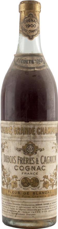 Cognac 1900 Dubois Frères Grande Champagne (6137)