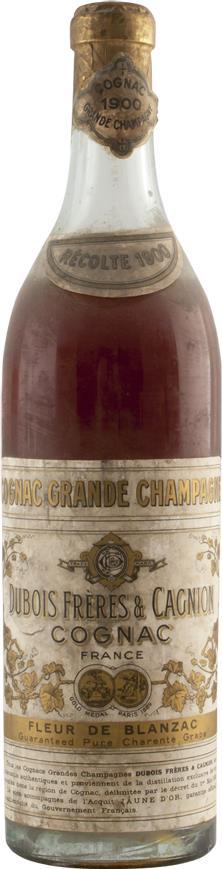 Cognac 1900 Dubois Frères & Cagnion (6139)