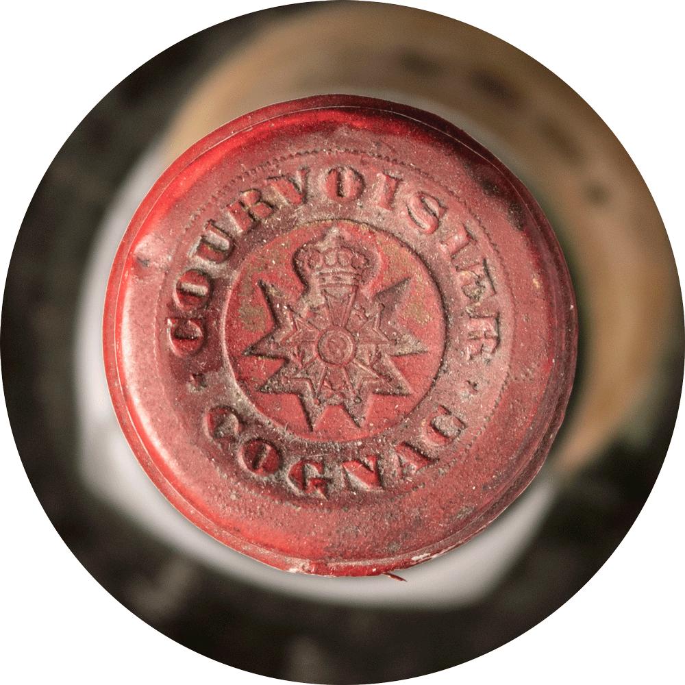 Cognac Vintage 1884 Courvoisier