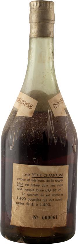 Cognac 1916 Godet Petite Champagne