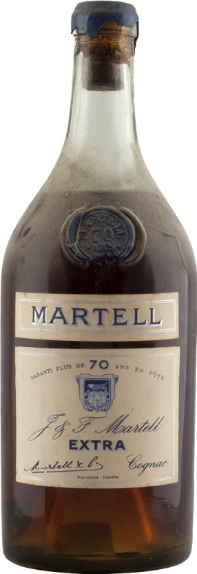 Cognac Martell Extra, 70 years of age (6257)