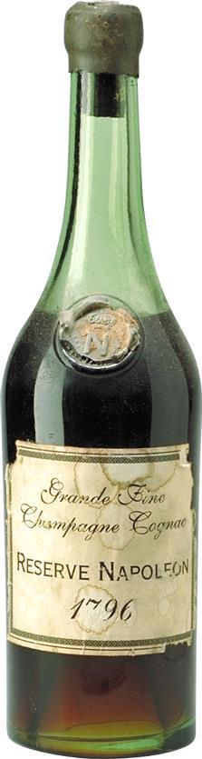 Cognac Grande Fine Champagne 1796 Réserve Napoléon (6268)