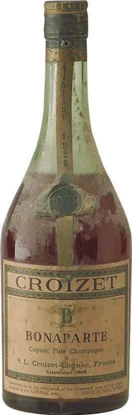 Cognac 1928 Croizet Bonaparte Fine Champagne 70cl (6284)