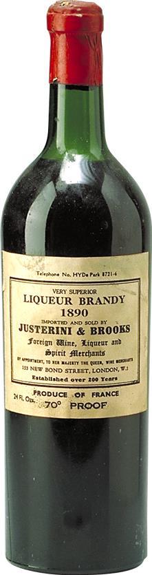 Cognac 1890 Justerini & Brooks (6333)