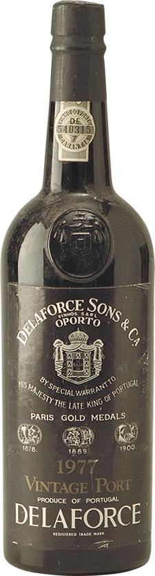 Port 1977 Delaforce Sons & Co (6338)