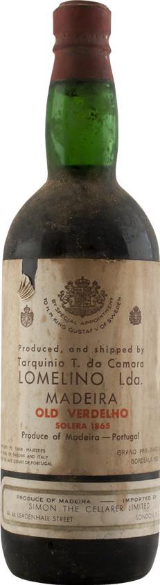 Madeira 1865 Tarquinia Solera (6348)