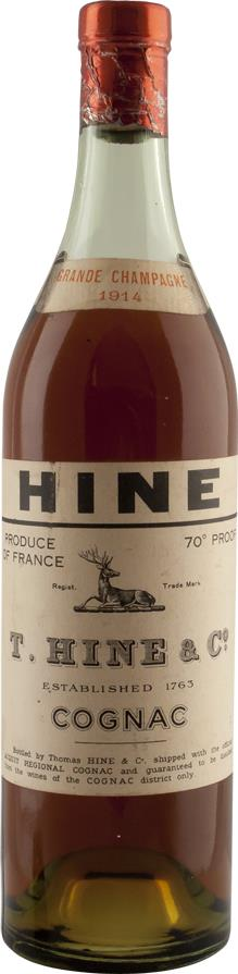 Cognac 1914 Hine & Co T. (6357)