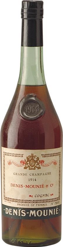 Cognac 1914 Denis-Mounié Bot.1930s (6412)