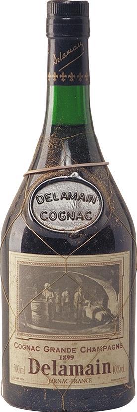 Cognac 1899 Delamain Grande Champagne 70cl (6452)