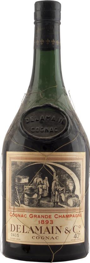 Cognac 1893 Delamain Grande Champagne 70cl (6463)