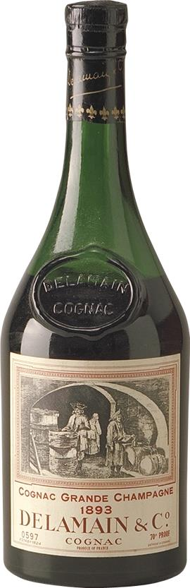 Cognac 1893 Delamain Numbered (6464)
