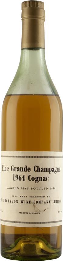 Cognac 1964 Hine Grand Champagne Octagon (6586)