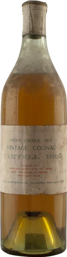 Cognac Vintage 1905 Martell Very Choice Old (6606)