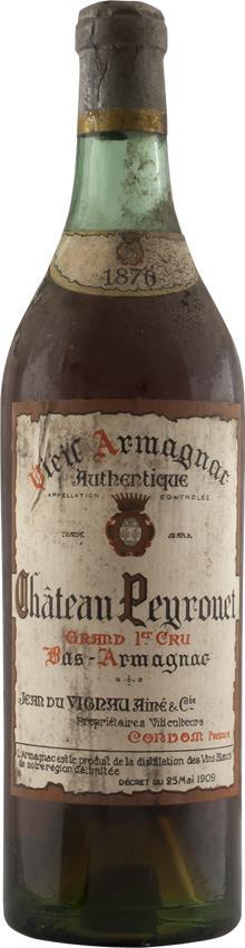 Armagnac 1870 Château Peyrouet (6608)