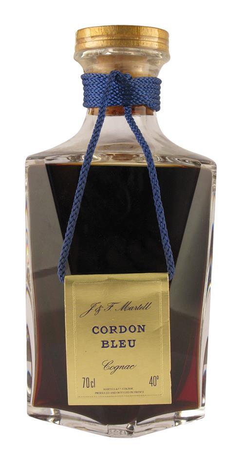 Cognac Martell J & F. Cordon Bleu Baccarat (20288)