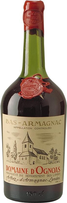 Armagnac 1973 Domaine d'Ognoas (6707)