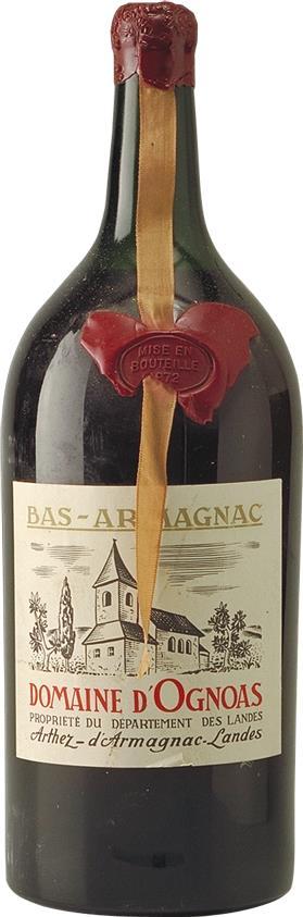 Armagnac 1972 Domaine d'Ognoas 2.5L (6708)