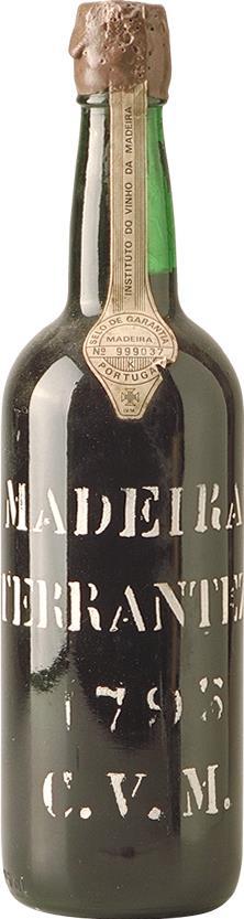Madeira 1795 Companhia Vinicola da Madeira Stencilled