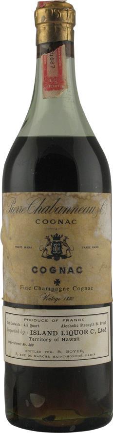 Cognac 1850 Pierre Chabanneau & Co (20291)