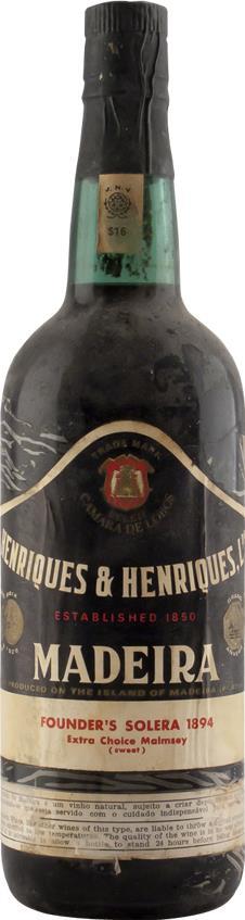 Madeira 1894 Henriques & Henriques (6744)