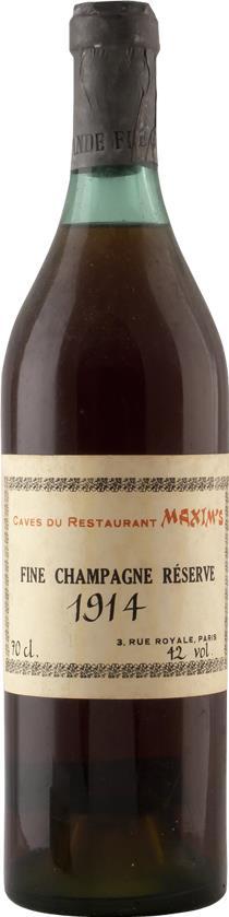 Cognac 1914 Maxim's, Caves du Restaurant (6852)