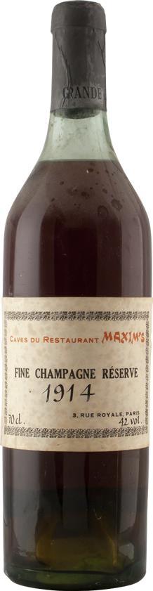 Cognac 1914 Maxim's, Caves du Restaurant (6868)