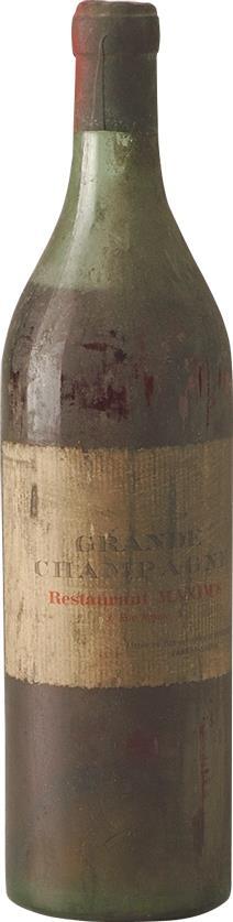 Cognac 1940s Maxim's Grande Champagne Bisquit Dubouché (6897)