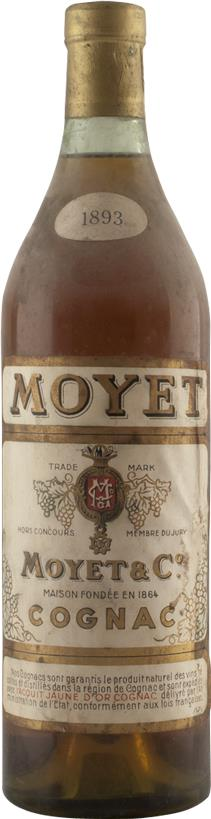 Cognac Vintage 1893 Moyet (6919)