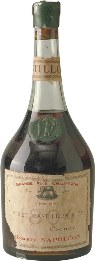 Cognac 1804 Pinet Castillon & Co (6948)
