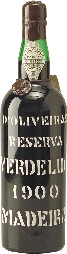 Madeira 1900 D'Oliveiras Verdelho (7041)