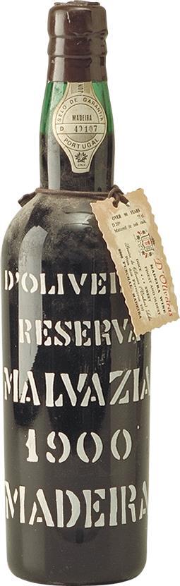 Madeira 1900 D'Oliveiras Malvasia (7042)