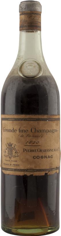 Cognac 1820 Pierre Chabanneau & Co (7047)
