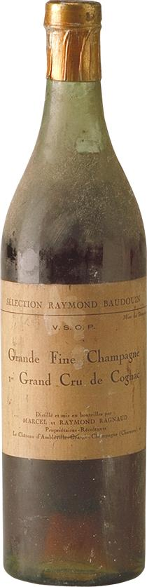 Cognac Marcel & Raymond Ragnaud VSOP Pre War (7202)