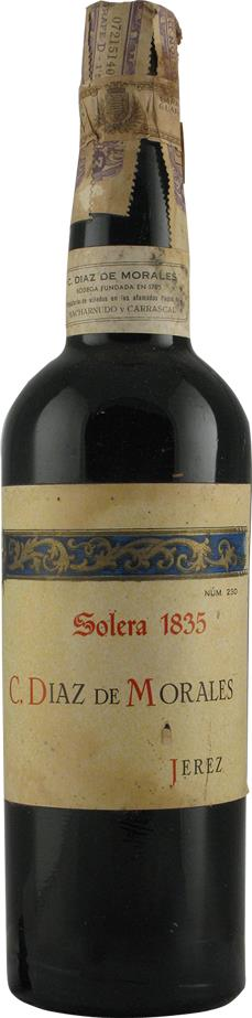 Sherry 1835 Diaz de Morales C. (7204)