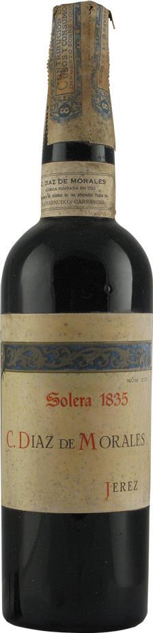 Sherry 1835 Diaz de Morales C., Solera (7206)