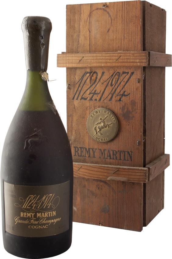 Cognac Rémy Martin 250th Anniversary (1724-1974) (7260)