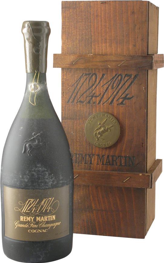 Cognac Rémy Martin 250th Anniversary  Bottled 1974