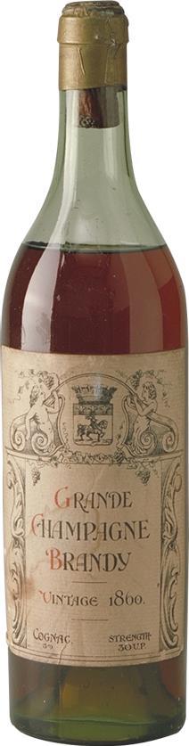 Cognac 1860 Grande Champagne Brandy (7311)