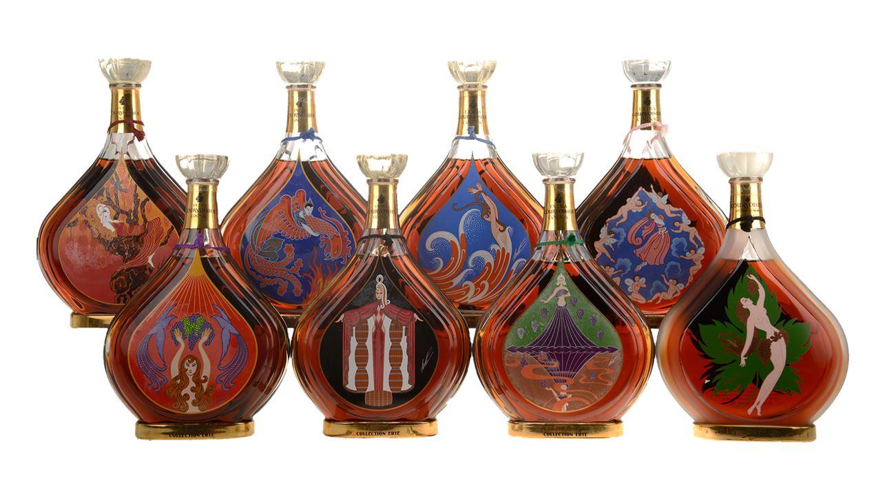 Cognac Courvoisier Erté No.1-8
