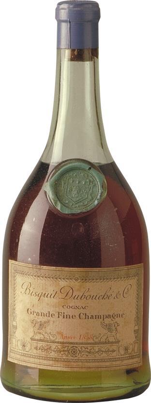 Cognac 1858 Bisquit Dubouché Grande Fine Champagne (7449)