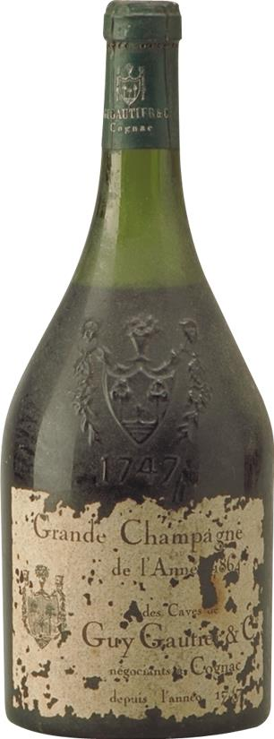 Cognac 1864 Caves de Guy Gautier & Co (7450)