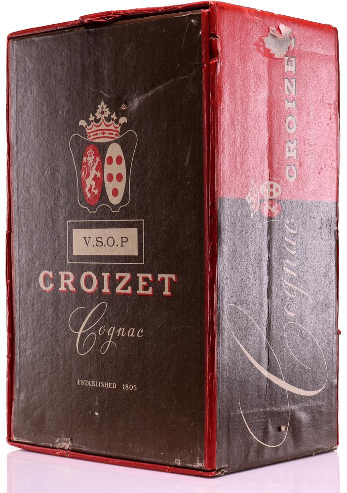 Cognac Croizet VSOP including glasses