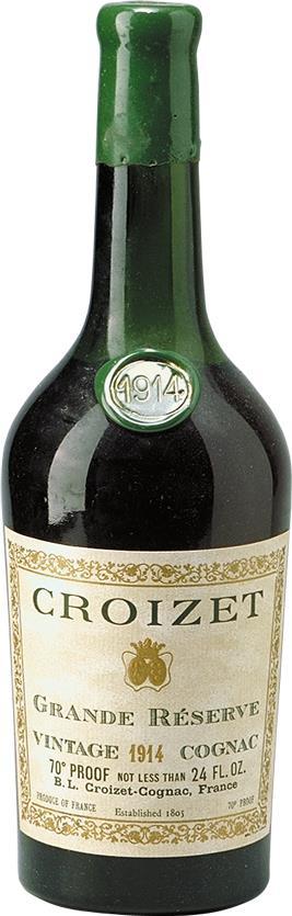 Cognac 1914 Croizet B. Léon (17661)