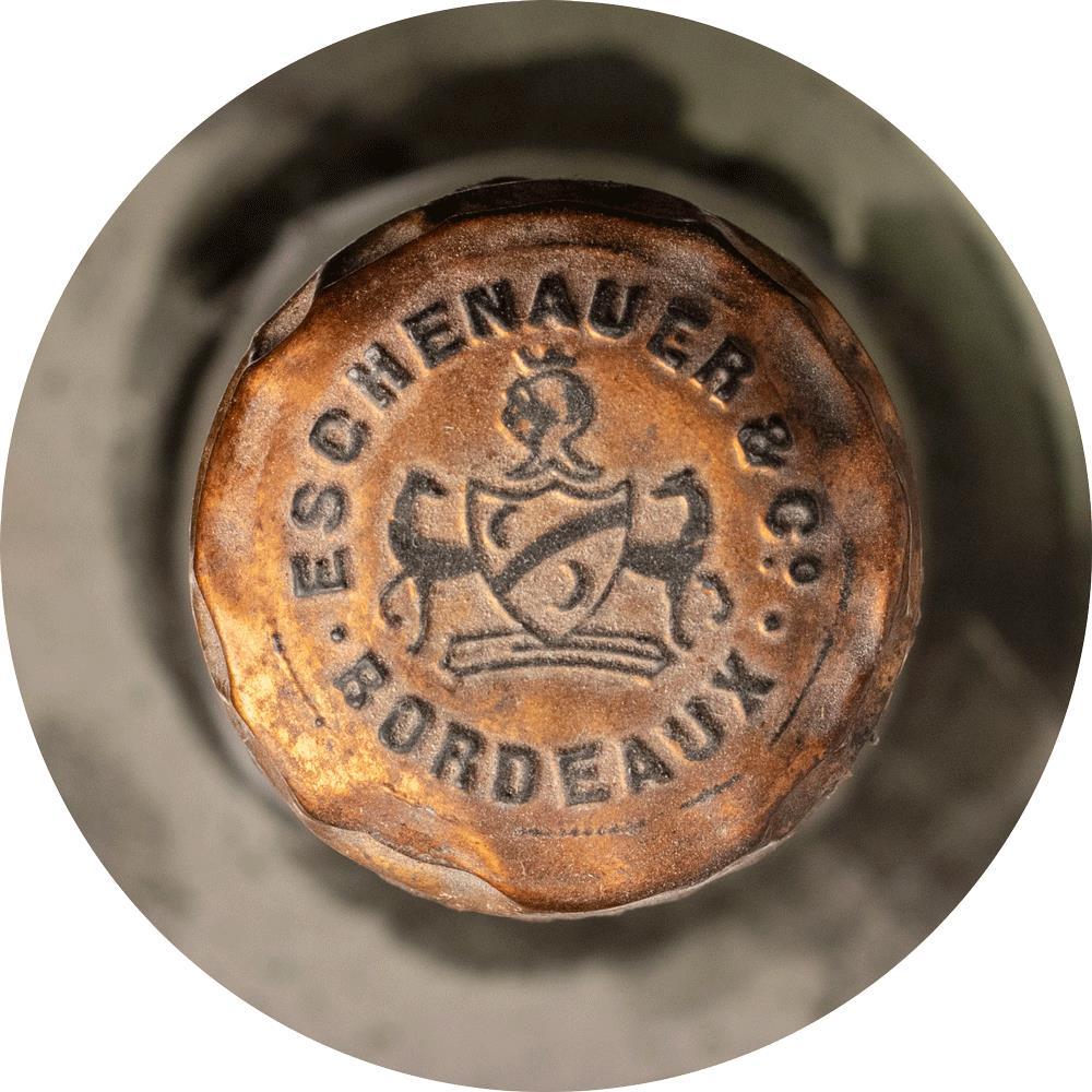 Cognac 1870 Eschenauer  Christie's Label