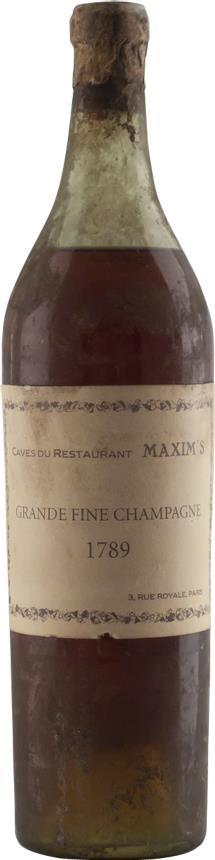 Cognac 1789 Maxim's, Caves du Restaurant (7576)